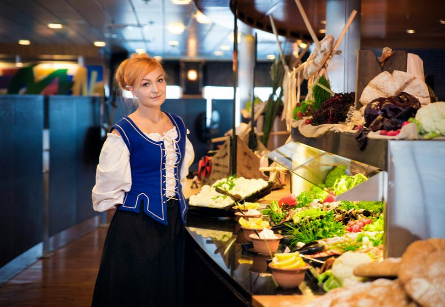 North Atlantic Cruise buffet